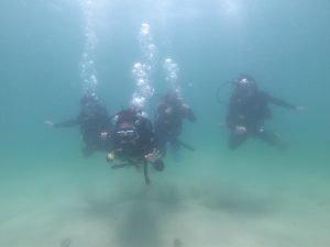 潛水課程水底相