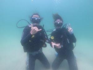 潛水課程上堂