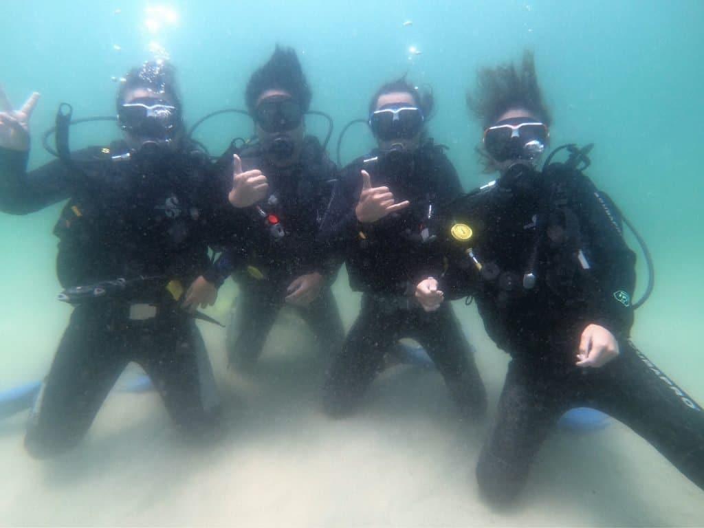 PADI潛水課程